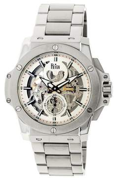 Reign Commodus Automatic Silver Dial Men's Watch