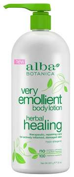 Alba Very Emollient Herbal Healing Lotion - 32oz