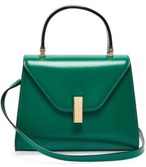 Valextra Iside Mini Leather Bag - Womens - Green