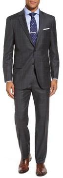 Hart Schaffner Marx Men's Classic Fit Plaid Wool Suit