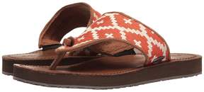 Acorn ArtWalk Leather Flip Women's Sandals
