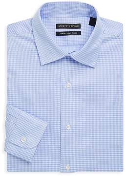 Saks Fifth Avenue BLACK Men's Slim-Fit Cotton Dress Shirt