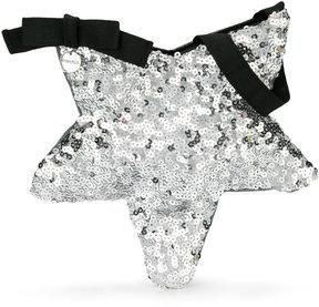 Simonetta sequinned star bag