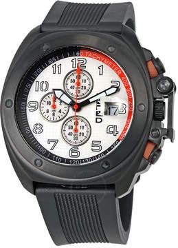 Breed Sander Chronograph White Dial Men's Watch