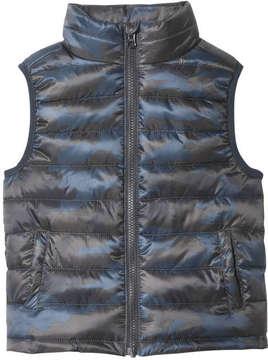 Joe Fresh Toddler Boys' Zip Vest, Blue (Size 2)