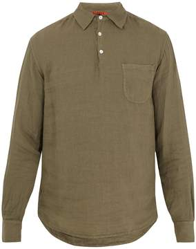 Barena VENEZIA Point-collar linen shirt