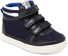 Carter's Terry High-Top Casual Sneakers, Toddler & Little Boys (4.5-3)