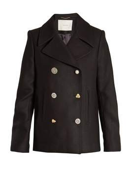 ADAM by Adam Lippes Double-breasted wool-blend pea coat