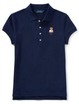 Polo Ralph Lauren Bear Mesh Polo Shirt French Navy Xl