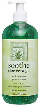 Clean + Easy Soothing Aloe Vera Gel Treatment