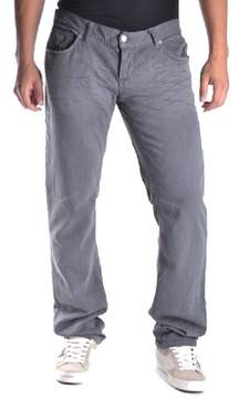 Richmond Men's Grey Cotton Pants.