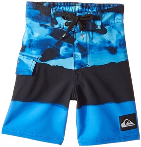 Quiksilver Blocked Resin Camo Boardshorts Boy's Swimwear