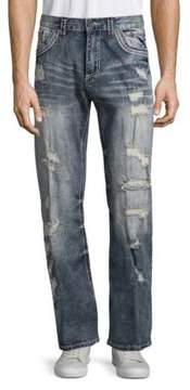 Affliction Ripped Jeans