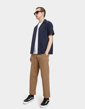 Saturdays NYC Canty Solid Shirt in Midnight