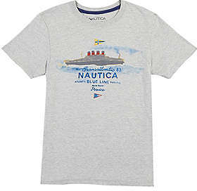 Nautica Boys' Cargo Ship Graphic Tee (8-16)