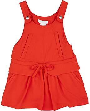 Chloé KIDS' DUNGAREE-STYLE DRESS