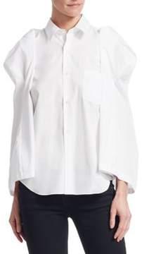Comme des Garcons Cotton Button-Down Shirt