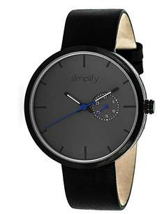 Simplify The 3900 Charcoal Watch.