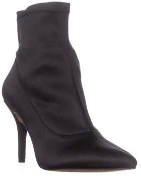 INC International Concepts I35 Zete Pull-on Ankle Booties, Black.