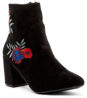 Rampage Itsie Floral Embroidered Boot