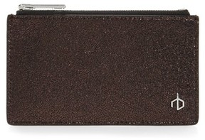 Rag & Bone Women's Metallic Leather Card Case - Metallic