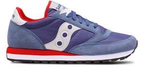Saucony Men's Blue Fabric Sneakers.