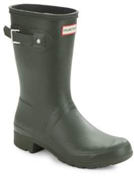 Hunter Tour Packable Short Rubber Rain Boots