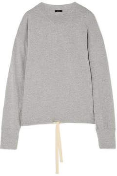 Bassike Organic Cotton-jersey Sweatshirt - Gray