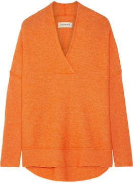 By Malene Birger Zonia Knitted Sweater - Bright orange