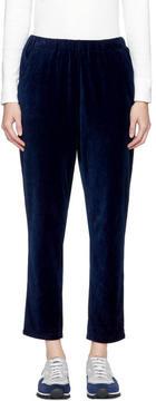 Blue Blue Japan Indigo Velour Trousers