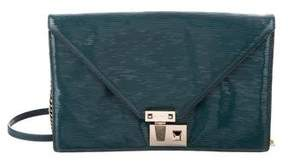 Rebecca Minkoff Textured Leather Bag - GREEN - STYLE