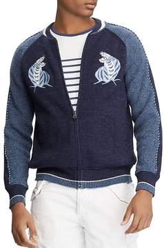 Polo Ralph Lauren Souvenir Full-Zip Baseball Sweater