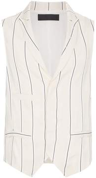 Haider Ackermann sleeveless striped waistcoat
