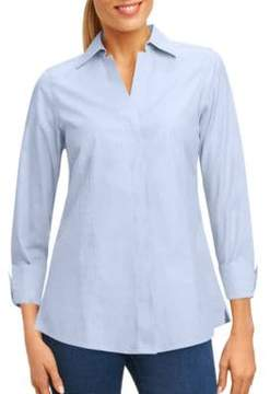 Foxcroft Taylor Button-Front Shirt