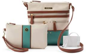 Co Stone & Plugged In Phone Charging Lydia Crossbody Bag with Wristlet