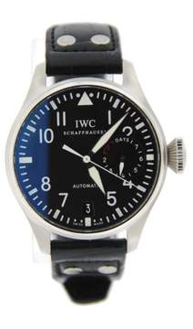 IWC Big Pilot 7 Day Power Reserve 5009 Stainless Steel 46mm Mens Watch