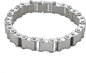 Triton Axl By AXL by 14k Gold Over Stainless Steel & Stainless Steel Bracelet - Men