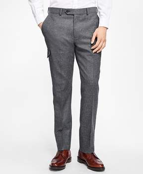 Brooks Brothers Stretch-Wool Flannel Dress Trousers