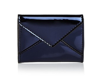 Rebecca Minkoff Small Metallic Leather Wallet - PALE BLUE - STYLE
