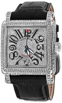 Franck Muller 10000H SC Conquistador Cortez Stainless Steel Diamond Watch