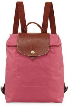 Longchamp Le Pliage Nylon Backpack - PEONY - STYLE