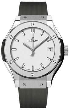 Hublot 581.nx.2611.rx Classic Fusion Quartz Titanium 33mm Mens Watch
