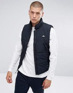 Penfield Washbourne Quilted Vest in Black