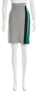 Band Of Outsiders Striped Knit Skirt