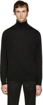 Paul Smith Black Merino Turtleneck