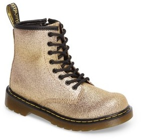 Dr. Martens Toddler Girl's Delaney Glitter Boot