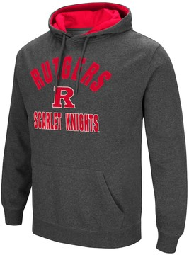 Colosseum Men's Campus Heritage Rutgers Scarlet Knights Pullover Hoodie