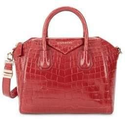 Givenchy Mini Antigona Leather Top Handle Bag