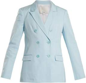 Tibi Steward double-breasted peak-lapel blazer