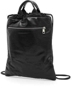 Dolce & Gabbana Nappa And Lightweight Nylon Backpack